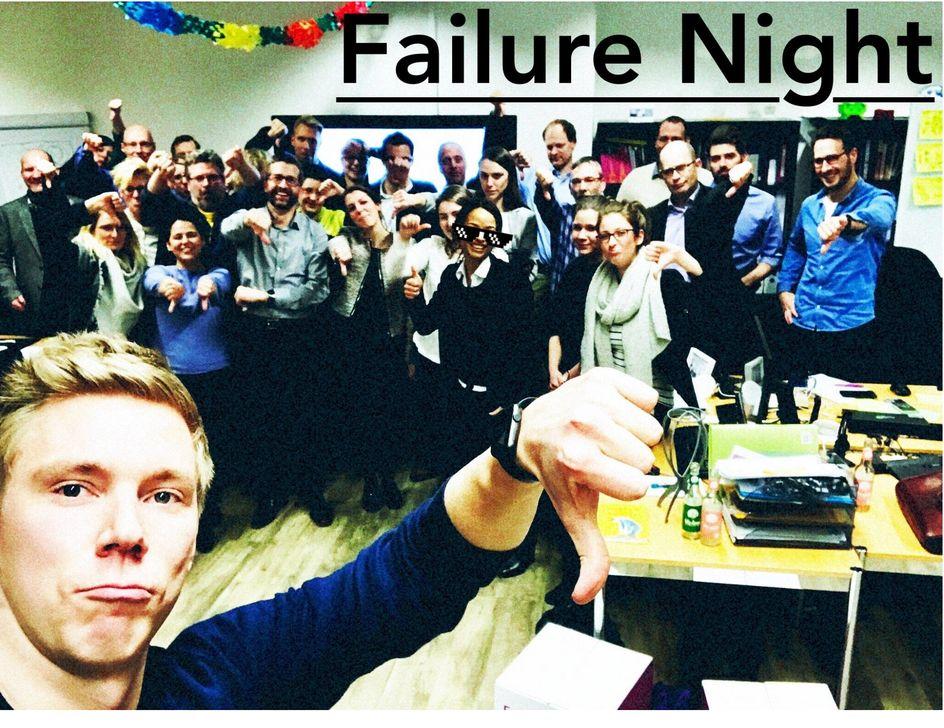 First Failure Night at Evonik Digital