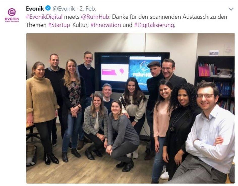 Evonik Digital meets Ruhr:HUB
